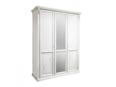 Шкаф для одежды «Яна» трёхдверный (с зеркалом) ММ-300-01/03