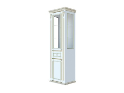 Шкаф-витрина IL106 Итальянская Классика Алетан