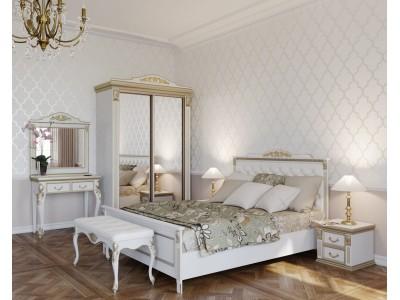Кровать двуспальная Беладжио-1 IB603 Итальянская Классика Алетан