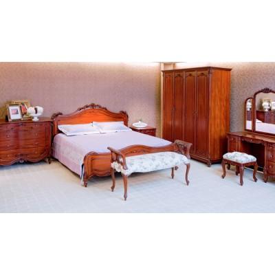 Шкаф для одежды четырехдверный Mahogany E-BL25-6M