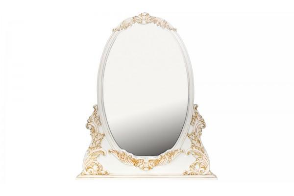 Зеркало настольное BVM-02-09 белый (New Ivory Gold)