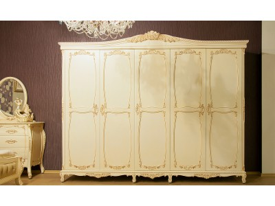 Шкаф для одежды пятидверный BVM-02-09 WBG
