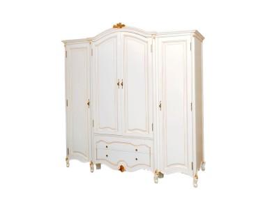 Шкаф для одежды пятидверный BL-26-7M белый