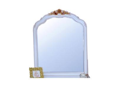 Зеркало настольное BVM-26 белый (New ivori+gold)