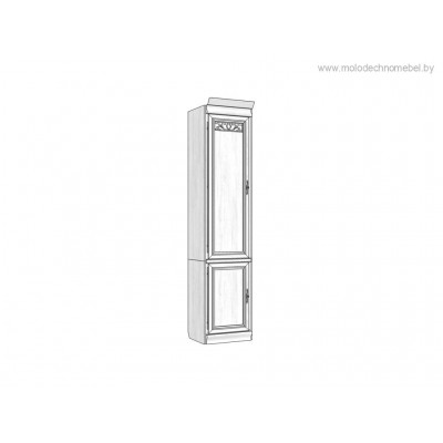 Шкаф комбинированный «Оскар» ММ-218-121