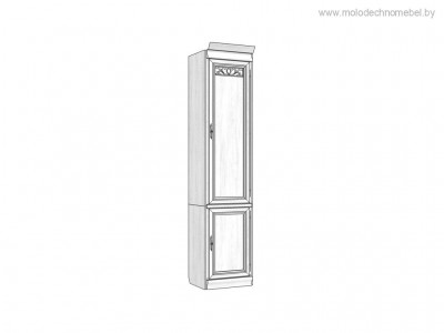 Шкаф комбинированный «Оскар» ММ-218-122