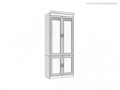 Шкаф комбинированный «Оскар» ММ-218-320