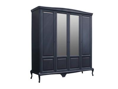 Шкаф для одежды четырехстворчатый «Мокко» ММ-316-01/04