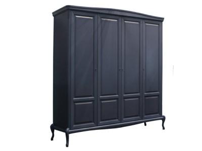 Шкаф для одежды четырехстворчатый «Мокко» ММ-316-01/04Б