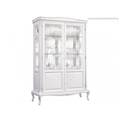 Шкаф с витриной  «Мокко»  ММ-306-02
