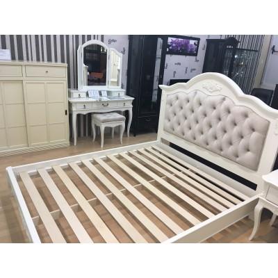 Кровать В212 с мягким изголовьем Прованс Алетан