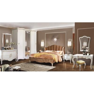 Кровать с мягким изголовьем «Трио» ММ-277-02/18Б-1