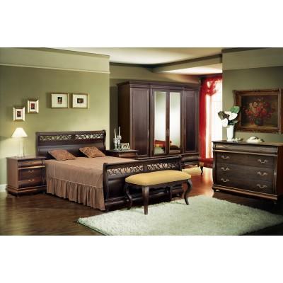 Кровать «Оскар» 180 (высокое изножье) ММ-216-02/18