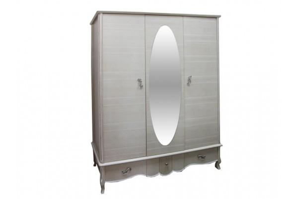 Шкаф трёхстворчатый для одежды «Лаура» ММ-267-01/03