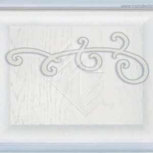 Белая эмаль + серебряная патина + декор =  83920.00р.