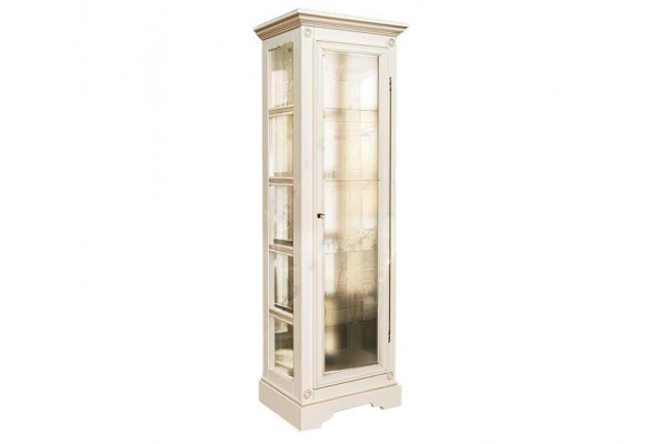 Шкаф с витриной «Полонез» ММ-174-05