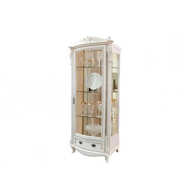 Шкаф с витриной «Луи» ММ-240-01