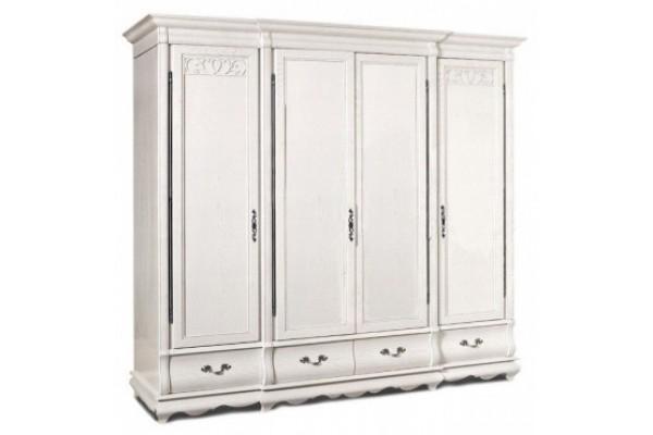 Шкаф четырехдверный для одежды «Оскар» ММ-216-01/04Б