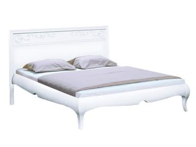 Кровать «Соната» 140 с декором (низкое изножье) ММ-283-02/14Б