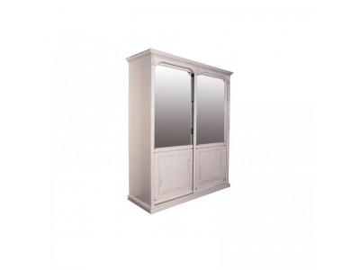 Шкаф-купе для одежды «Яна» двухдверный (с зеркалом) ММ-300-01/02Р