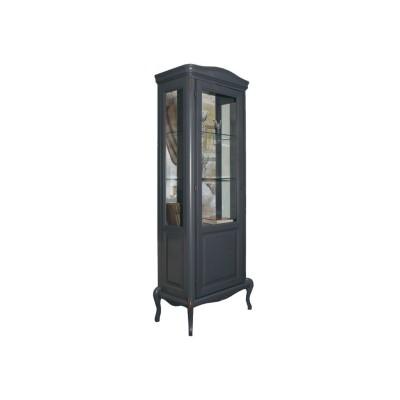 Шкаф с витриной  «Мокко»  ММ-306-01