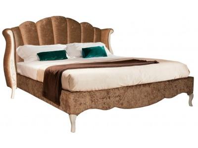Кровать с мягким изголовьем «Трио» ММ-277-02/16Б-1