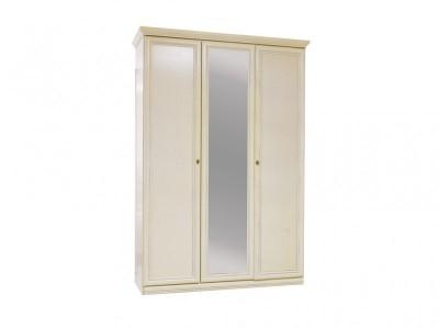 Шкаф для одежды «Нинель» трёхдверный (с зеркалом) ММ-167-01/03