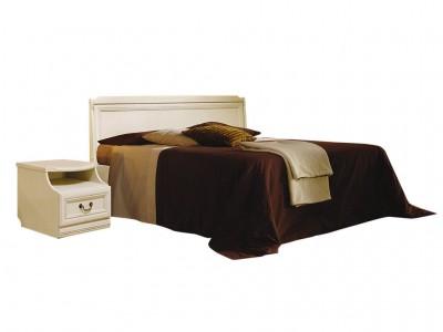 Кровать «Нинель» (низкое изножье) ММ-167-02/14Б