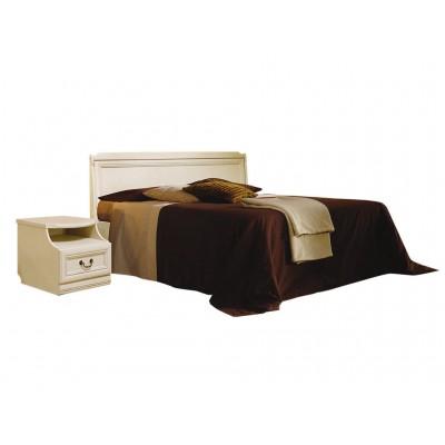 Кровать «Нинель» (низкое изножье) ММ-167-02/18Б