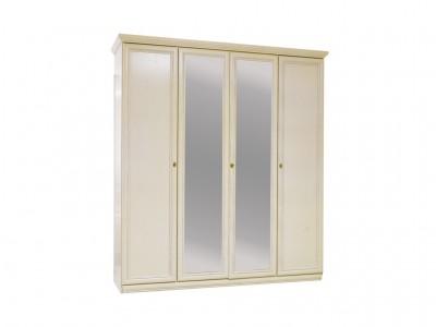 Шкаф для одежды «Нинель» четырёхдверный (с зеркалом) ММ-167-01/04