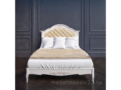 Кровать В214 с мягким изголовьем Прованс Алетан