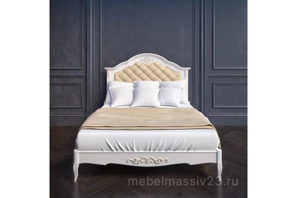 Кровать В216 с мягким изголовьем Прованс Алетан