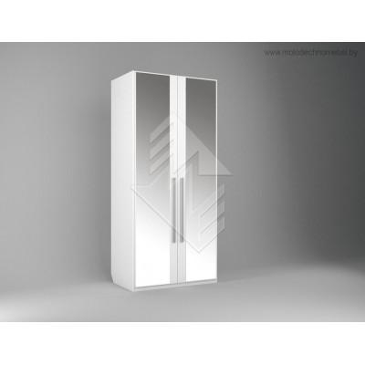 Шкаф двухстворчатый для одежды Лорена ММ-346-01/02