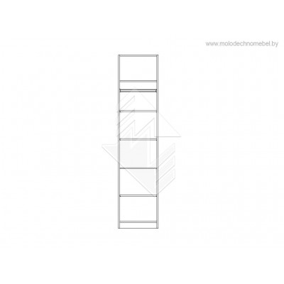 Шкаф для одежды Лорена ММ-346-01/01