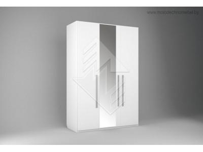 Шкаф трехстворчатый для одежды Лорена ММ-346-01/03