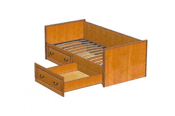 Кровать ВМФ-5092 Вилия-М