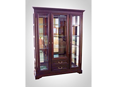 Шкаф с витриной «Полонез» ММ-174-09