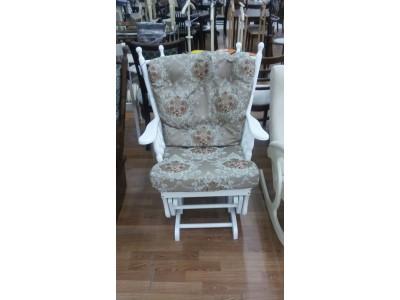 Кресло-качалка ЕМК белое