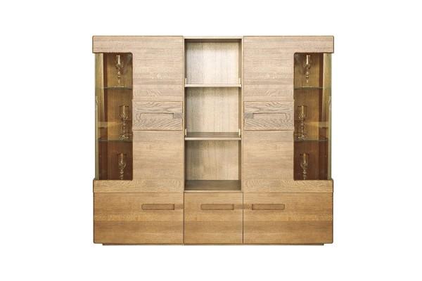Шкаф комбинированный «Хедмарк 2251Бр» БМ760 дуб натуральный