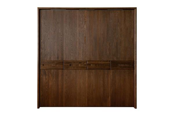 Шкаф для одежды 4д «Хедмарк 2210Бр» БМ761 венге