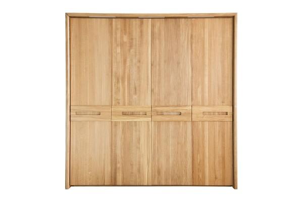 Шкаф для одежды 4д «Хедмарк 2210Бр» БМ761 дуб натуральный
