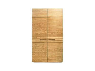 Шкаф для одежды 2д «Хедмарк 2243Бр» БМ760 дуб натуральный