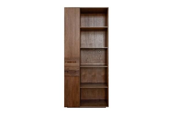 Шкаф книжный «Хедмарк 2355-01Бр» БМ762 венге