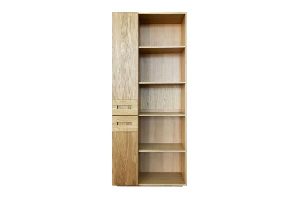 Шкаф книжный «Хедмарк 2355-01Бр» БМ762 дуб натуральный