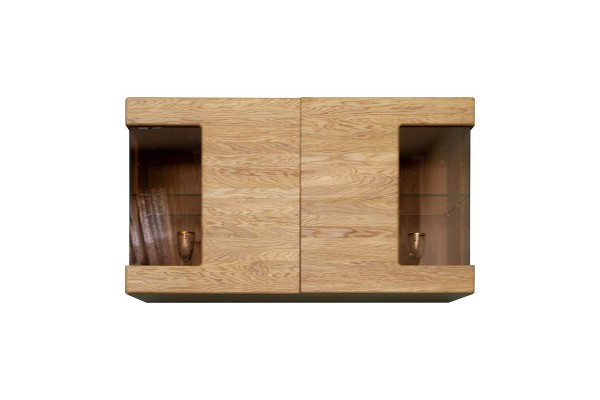 Шкаф навесной «Хедмарк 2248Б» БМ760 дуб натуральный