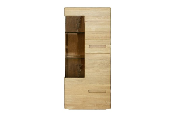 Шкаф-витрина «Хедмарк 2249-01Бр» БМ760 дуб натуральный
