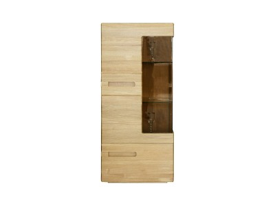 Шкаф-витрина «Хедмарк 2249Бр» БМ760 дуб натуральный