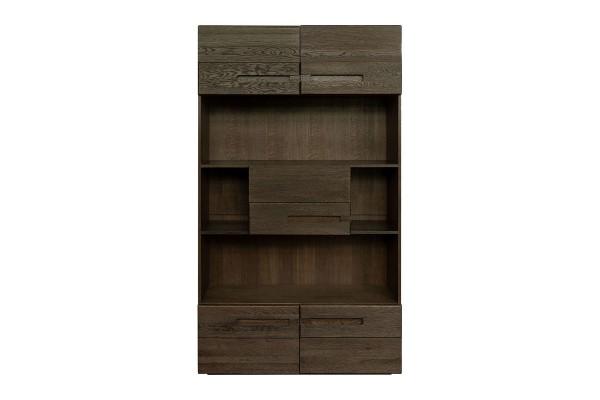 Шкаф книжный «Хедмарк 2356Бр» БМ762 венге