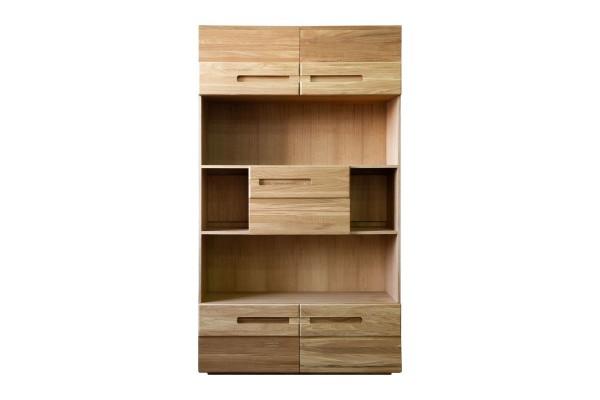 Шкаф книжный «Хедмарк 2356Бр» БМ762 дуб натуральный
