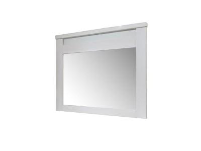 Зеркало настенное «Доминика 2109Бр» БМ711 белый воск